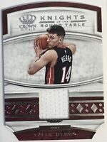 2019-20 Crown Royale Knights of the Round Table Jersey Tyler Herro Heat Mint !