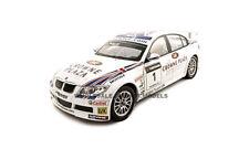 BMW 320si WTCC ANDY PRAULX #1 1:18 DIECAST MODEL CAR BY GUILOY 67503
