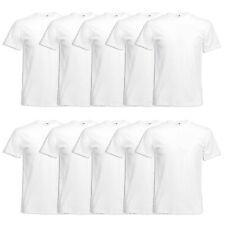 FRUIT OF THE LOOM T-SHIRT 5er / 10er Original T Herren weiss Shirt S - 5XL 61082