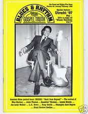 MAGAZINE BLUES & RHYTHM GOSPEL TRUTH No 34 JANUARY 1988 LARRY DALE