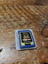 Genuine OEM PNY Optima 4GB SDHC Memory Card - Class 4 - SD-K04G - Made in Japan