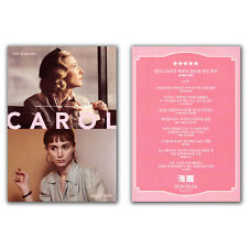 Carol Movie Poster Card Cate Blanchett, Rooney Mara, Kyle Chandler, Todd Haynes