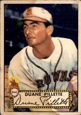 Duane Pillette 1952 Topps #82 St. Louis Browns Good 61139