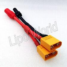 XT90 Stecker auf AS150 Buchse AMASS parallel Adapter Lade Kabel 10AWG DJI S1000
