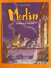 Merlin Jambon & Tartine Tome 1. Sfar & Munuera. éditions Dargaud EO