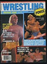 Wrestling Power Magazine - 1st Issue - Sept 1986 - Hulk Hogan / Road Warriors