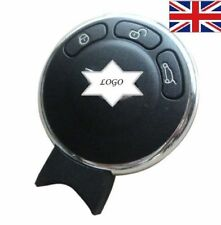 """FOR BMW MINI COOPER 3 BUTTON SMART KEY FOB CASE """"WITH LOGO"""" A01"""