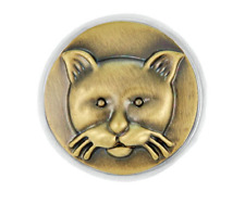 Ginger Snaps™ Brass Alley Cat Jewelry - Buy 4, Get 5Th $6.95 Snap Free