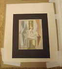"""PABLO PICASSO """"Table Before Window"""" RARE Lithograph with COA"""