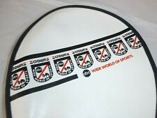 Vtg 70s Abc Wide World of Sports Crown Racquetball Racquet Cover Vinyl