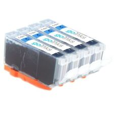 4 Cyan Ink Cartridges for Canon PIXMA iP4700 MP560 MP640 MX860