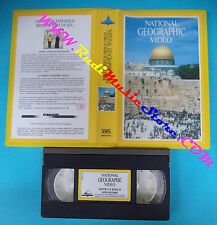 VHS film ENTRO LE MURA DI GERUSALEMME 1988 NATIONAL GEOGRAPHIC VIDEO(F17*)no dvd