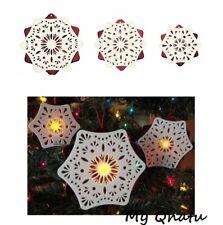 IKEA STRALA 3/Set Christmas Holiday LED Indoor Snowflake Lighting Decoration NEW