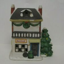 Dickens Collectables Bakery Village House Towne Series