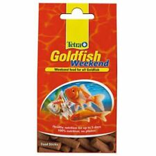 TETRA WEEKEND GOLDFISH FOOD 10 STICKS - FEEDS FISH WHILST ON HOLIDAY
