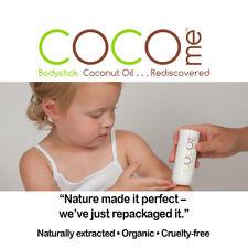 Organic Coconut Oil Bodystick & Lip Balm Combo pack Cleanse, Nourish, Moisturize