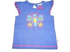NEU Liegelind süßes T-Shirt Gr. 86 lila mit Schmetterlingsmotiv !!