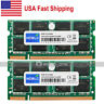 New 8GB 2x4GB DDR2-800MHz PC2-6400 200Pin Sodimm NonEcc Laptop Memory From USA