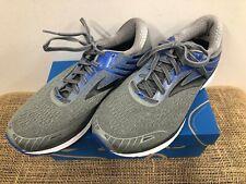 NIB Brooks 110271 Men's Adrenaline GTS 18 Grey/Blue/Black Running Shoe