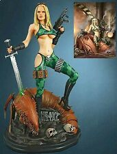 Statue Fully painted new in the box Heavy Metal Alien Marine Girl 1:4 Scale