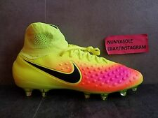 Nike Mens Magista Orden II 2 FG Volt Orange Soccer Cleats (843812 708) Size: 9