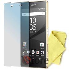 """5 Pellicola Per Sony Xperia Z5 Salva Proteggi Schermo Pellicole Display 5,2"""""""