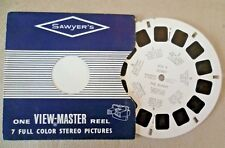Vintage Viewmaster - Sawyer's Single Reel 830 A Bobby The Bunny - 1957