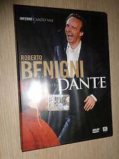 DVD N° 8 ROBERTO BENIGNI TUTTO DANTE INFERNO CANTO VIII OTTAVO DIVINA COMMEDIA
