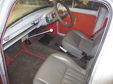Ford 100E Anglia Prefecto 107E popular juego de alfombra-pelo profundo, con el respaldo de látex