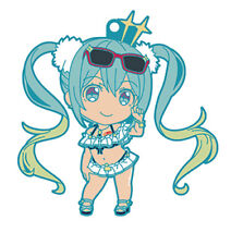 Vocaloid Racing Miku Thailand Ver. GT Project Rubber Strap NEW