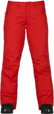 BURTON Women's SOCIETY Snow Pants - Firey Red - Small - NWT