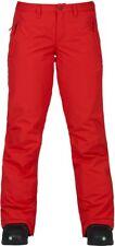 BURTON Women's SOCIETY Snow Pants - Firey Red - Size XSmall - NWT