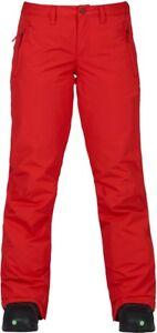 BURTON Women's SOCIETY Snow Pants - Firey Red - XSmall  - NWT
