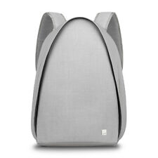 Moshi Tego anti-theft Backpack with USB Charging Port,Water Resistant Stone Gray