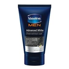 Vaseline Men Advanced White Charcoal Black Face Wash Visibly Fairer Skin 100g