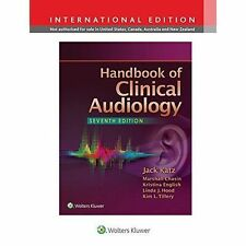 Handbook of Clinical Audiology by Jack Katz (Hardback, 2014)