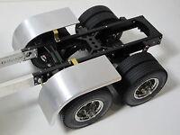 Custom aluminum Half fender Tamiya 1/14 Semi King Knight Hauler Scania Trailer