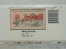 "Woodscapes Of America Mesa Sunrise #147 20"" x 36"" Wood Art Kit New Unopened Box"