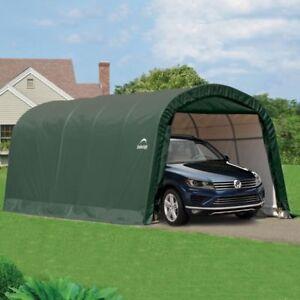 20x10 CAR SHELTER PORTABLE GARAGE AWNING GAZEBO CARPORT CANOPY MARQUE TENT NEW