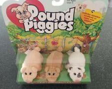 1997 Pound Piggies Galoob Toys Set of 3 Rare New