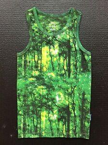Claesens kids sleeveless tank top printed forest
