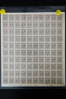 Germany AMG 5x 3N Stamp Sheets