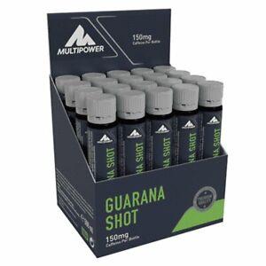 Multipower Guarana Shot 20er Pack / Mineralien Vitamine Ampullen