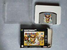 Mario Party 2 en Boite jeu N64 Nintendo 64 avec Câle et Boite plastique.