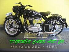 MOTO CLASSIQUE 1/24  SANGLAS 350  1950 MOTORRAD MOTORCYCLE