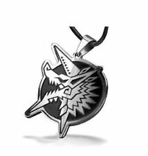 Monster Hunter Zinogre Thunder Wolf Wyvern Pendant Necklace USA Ship