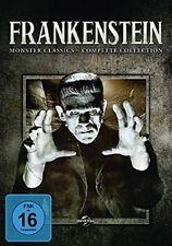 FRANKENSTEIN: MONSTER CLASSICS-COMPLET (BORIS KARLOFF,...)   7 DVD NEU