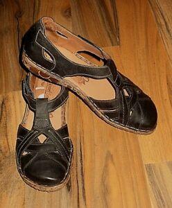 Neuwertig! Josef Seibel Damen Schuhe Halbschuhe Leder Gr.39  grau