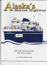ALASKA MARINE HIGHWAY FERRY SYSTEM 2005/06 WINTER SCHEDULE M/S LECONTE COVER