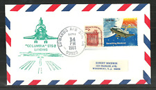USA 1981 SPACE COVER COLUMBIA SHUTTLE LANDING EDWARDS AFB COMMEMORATIVE COVER
